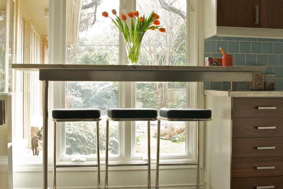 Countertop Under The Kitchen Design Window Countertop Sill As An
