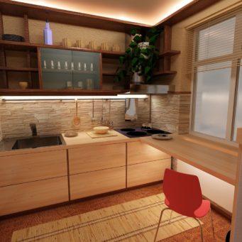 Malá Kuchyně Design Chruščov